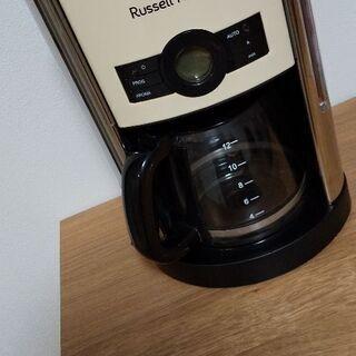 【引取限定】Russell Hobbs コーヒーメーカー  18...