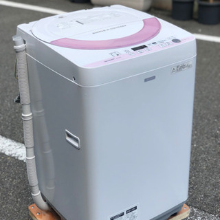 設置•配送無料‼️美品🎖 5.5kg シャープAg+イオン…