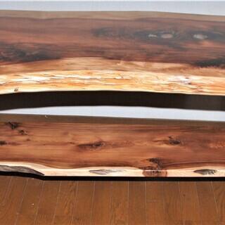 ***高級ダイニングテーブル 横1970mm×幅850mm(最大...