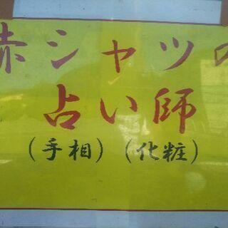 本日はありがとうございました🎵赤シャツの占い師、名取商店様フリー...