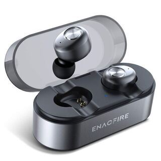 令和革新モデル 片耳8時間継続使用 Qi無線充電 Apt-X I...
