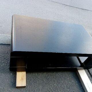 値下げ!!ブラックセンターテーブル テレビボード AVボード ロ...