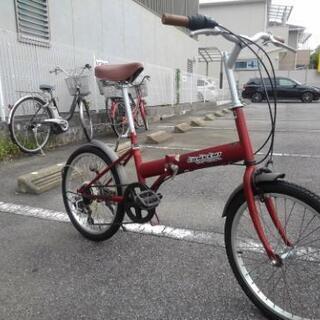受付再開!中古自転車671 前後タイヤ交換❗折り畳み自転車 20...