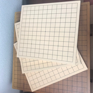 碁盤 13路 9路 碁石セット 囲碁 - おもちゃ