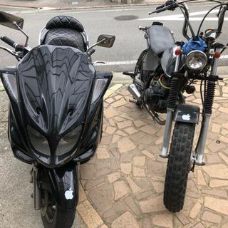 マジェスティ250.tw200を2台セットで売ります。