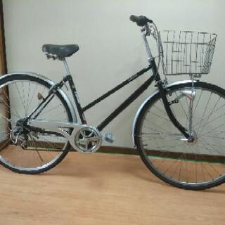 リサイクル(中古)27インチ自転車 深緑
