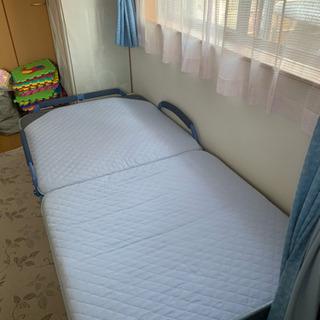 折り畳みベット シングル  カバー洗濯可能