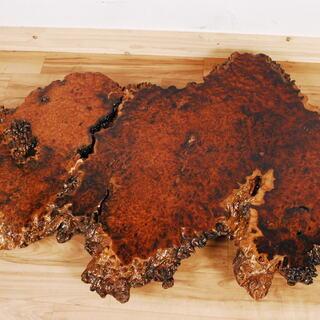 0597 花梨 瘤杢 葡萄杢 コブ杢 一枚板 無垢 花台 飾台 ...