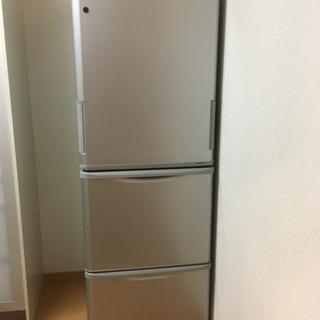 SHARP  350L  ノンフロン冷凍冷蔵庫