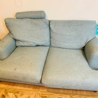ブルーのソファお譲りします!!
