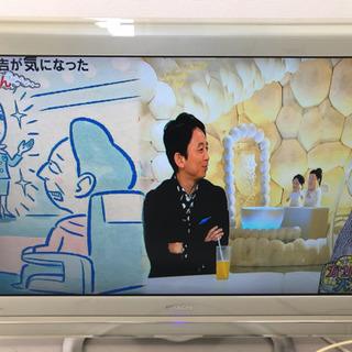 HITACHI 液晶テレビモニター+チューナー WOOO UT3...