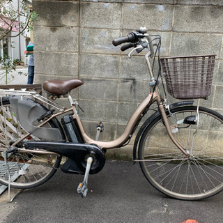 ✳️電動自転車ヤマハPAS natural26インチ6Ahライト...