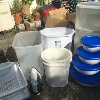 無料★US製 ゴミ箱、プラケース、アイロン等