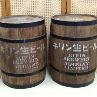 南12条店 キリンビール キリン生ビール 木樽 ノベルティ 高さ...