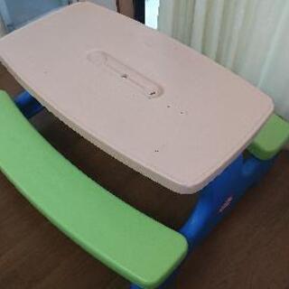 LITTLE TIKES テーブル & ベンチ