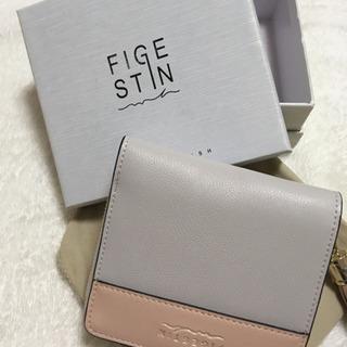 レディース 二つ折財布 バイカラー かわいい 化粧箱 プレゼント