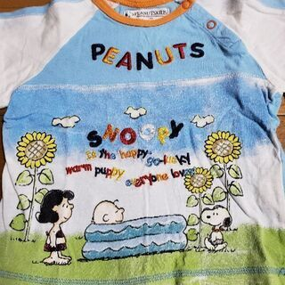 スヌーピーTシャツ90