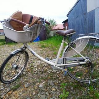 中古前子供乗せ22インチ自転車(ジャンク)お譲り致します