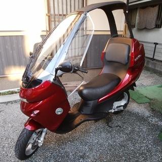 【希少】 ベネリ アディバ 150 収納可能な屋根付きバイク エ...