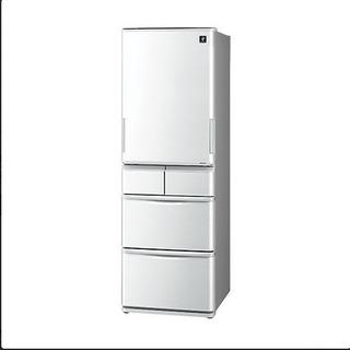 【中古】【美品】冷蔵庫 シャープ 2018年製 412L ノンフ...