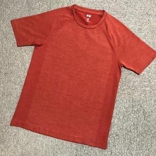 超美品/ユニクロ/ドライEXクルーネック半袖Tシャツ/メンズ/X...