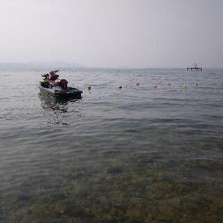 琵琶湖でジェット&BBQ