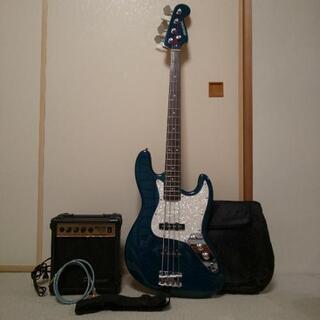 ベースギター  SELDER 含む 5点セット