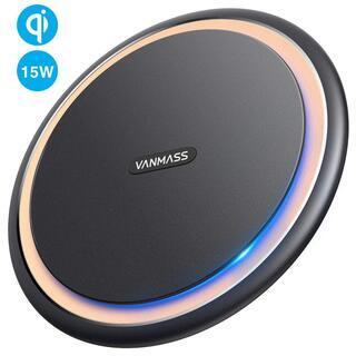 ワイヤレス充電器 VANMASS Qi 15W 未使用品
