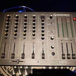 RODEC MX180 ORIGINAL DJミキサー 売ります!