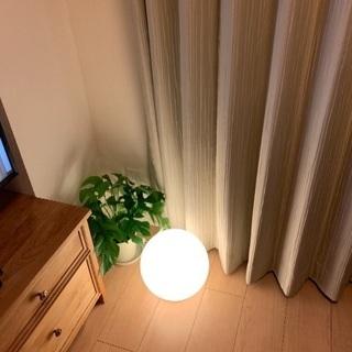 【譲ります】IKEAフロアランプ FADO