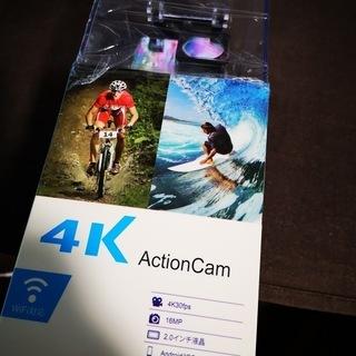 4K アクションカメラ 新品未開封品 半額!!