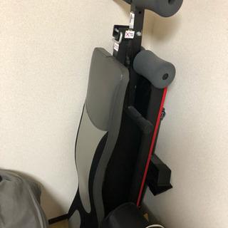 筋トレ器具(ベンチプレス台、腹筋背筋器具、ヨガマット、ダンベル、...