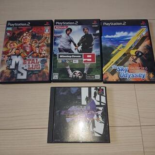 ゲームソフト②【PlayStation、PlayStation2】