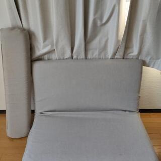 マットレス代わりにも使えるソファベッド カバーも洗えます!