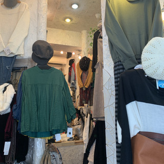 JR学研都市線『寝屋川公園駅』すぐ‼︎隠れ家的激安服屋❁︎りのん