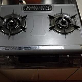リンナイ ガステーブル プロパンガス 焼き魚グリル未使用