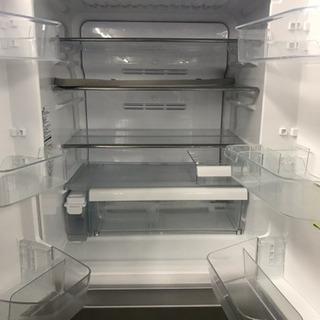 【リユース品】TOSHIBA ベジータ ガラス フレンチドア式 6ドア冷蔵庫 最高級 - 売ります・あげます