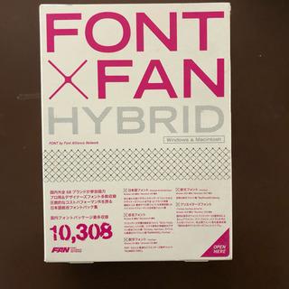 FONT×FAN HYBRID Windows&Macintos...