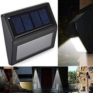 [[[在庫処分]]]■ソーラーステップライト電球色2個■屋外足元...
