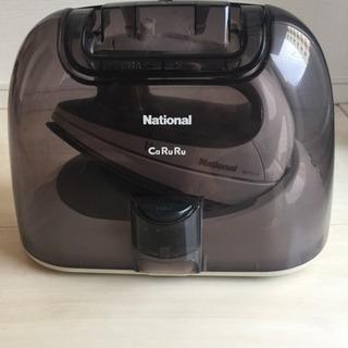 中古コードレスアイロン national CaRuRu NI-CL10