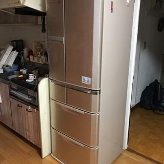 三菱 6ドア 冷蔵庫 MR-E47S 465L