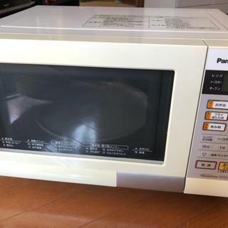 Panasonic オーブンレンジ NE-TY156-W