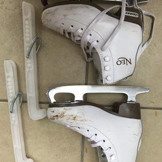 スケート靴 ザイラス NEO  20cm 白