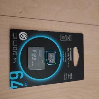 【新品】 MicroSDカード 64GB 未開封新品です