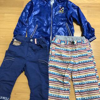 ジャケット。パンツ140cm