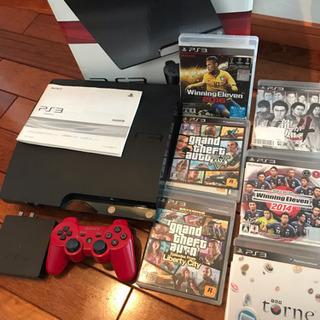 PS3 120GB・トルネ・B-CASカード・コード類のセ…
