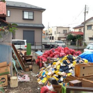 庭木の伐採、ゴミの片付け、不用品の処分