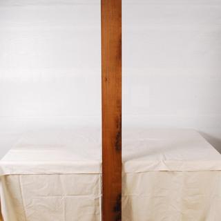 0826 花梨 かりん 一枚板 無垢 角材 板材 天板 長さ19...
