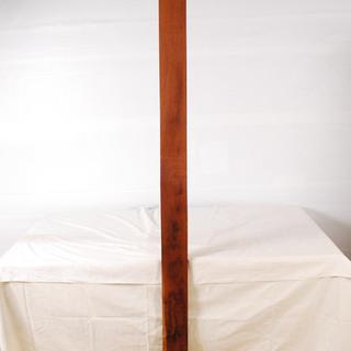 0827 花梨 かりん 一枚板 無垢 角材 板材 天板 長さ20...