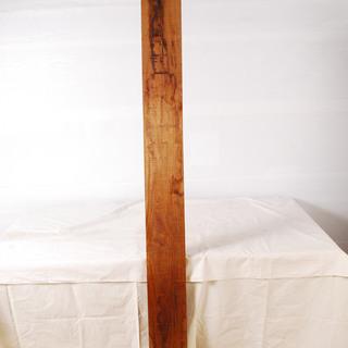 0828 花梨 かりん 一枚板 無垢 角材 板材 天板 長さ20...